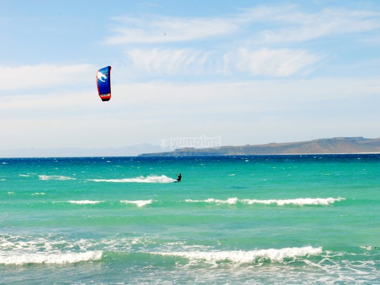 Kitesurf Jose instructor