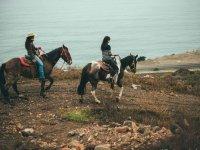 Horseback riding in our natural refuge
