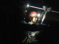 Live the night zip line experience