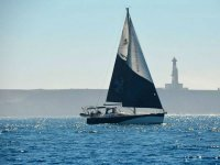 Our luxurious sailboat