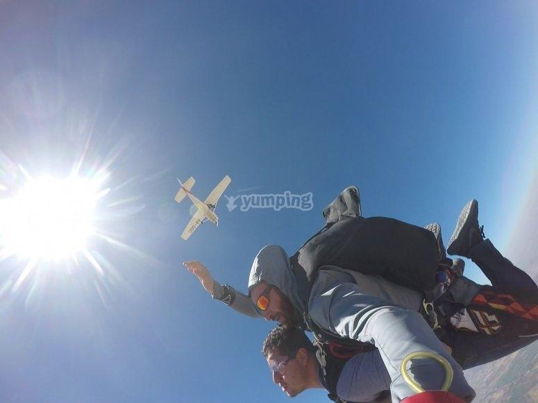 Parachuting flights