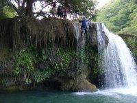 Adrenaline in the waterfalls