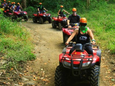 Canopy + two-seater quad bike tour, Nayarit