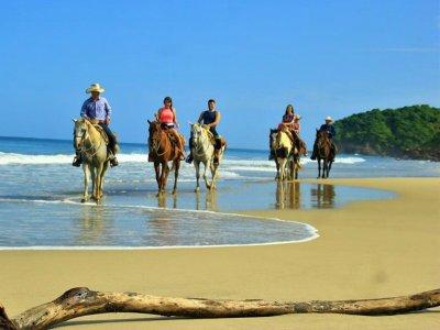 Horseback Riding + ATV Tour in Higuera Blanca