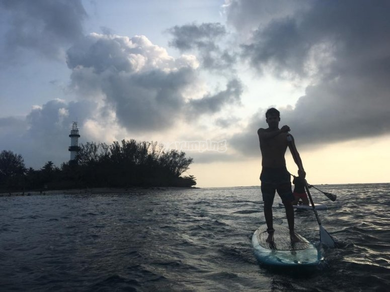 practica paddle surf