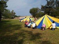 Camp for teachers in Querétaro