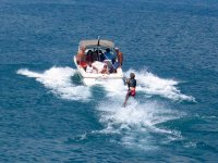 Enjoy water sports