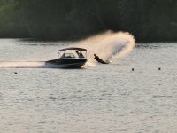 Master water skiing
