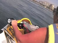 Through the hotel zone