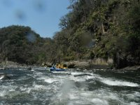 Rafting in the filobobos river