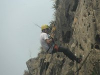 Rappelling with care