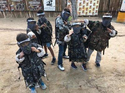 Cumpleaños infantil con gotcha en Culiacán Sinaloa