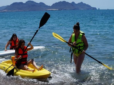 Guided adventure tour in San Carlos, Sonora.