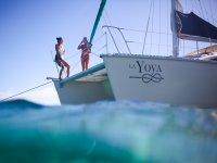 viaje por catamaran