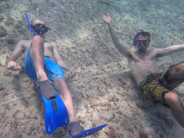nada en arrecifes
