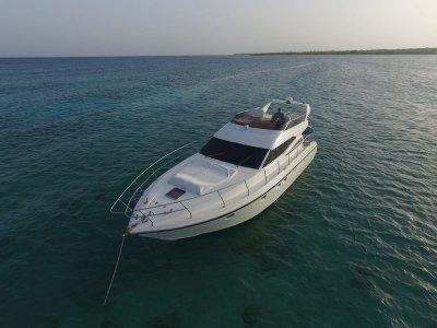 Yate de lujo y snorkel en Riviera Maya 4 horas