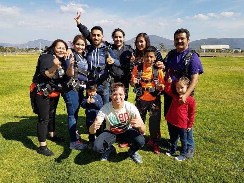 Equipo de salto en Puebla