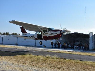Paracaidismo Lago Vuelo en Avioneta