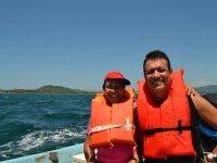 Tours en el mar