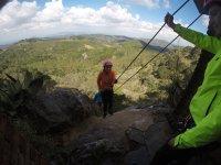 Campamento de aventura en la sierra de San Luis
