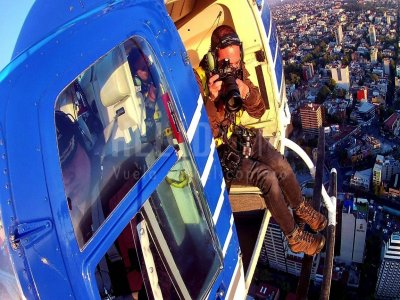Helicopter flight 30 min in Ciudad de Mexico