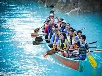 Remando en rios de SLP