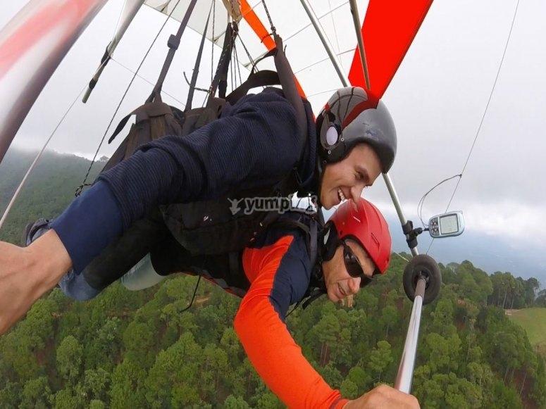 Tandem flight