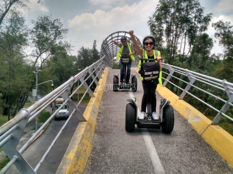 Adrenalina en la Ciclopista elevada