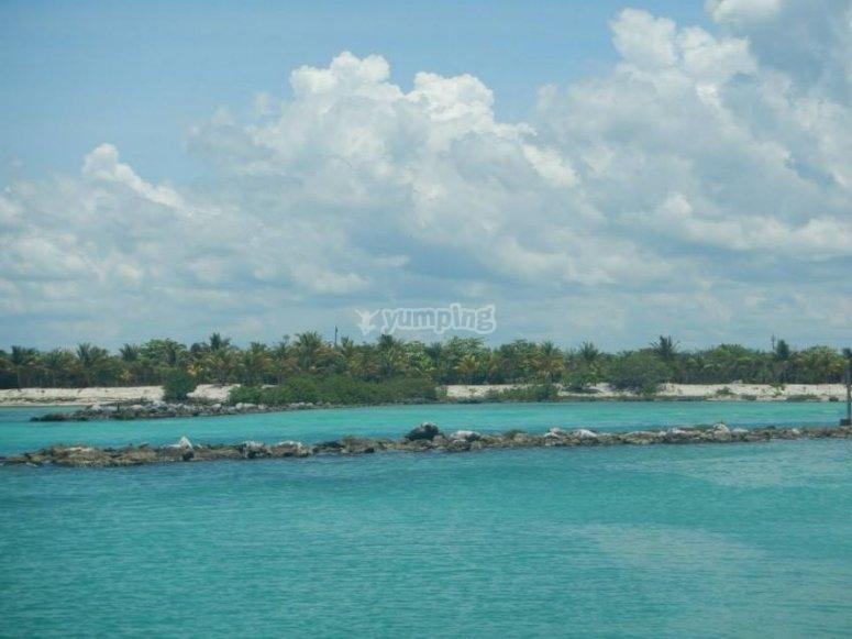 Sailboat trip in Cancún