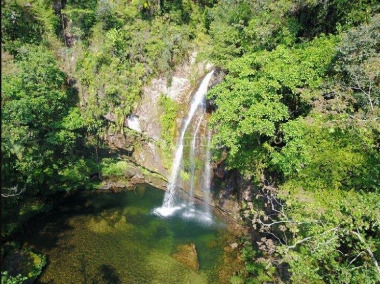 cascadas en Cuetzalan