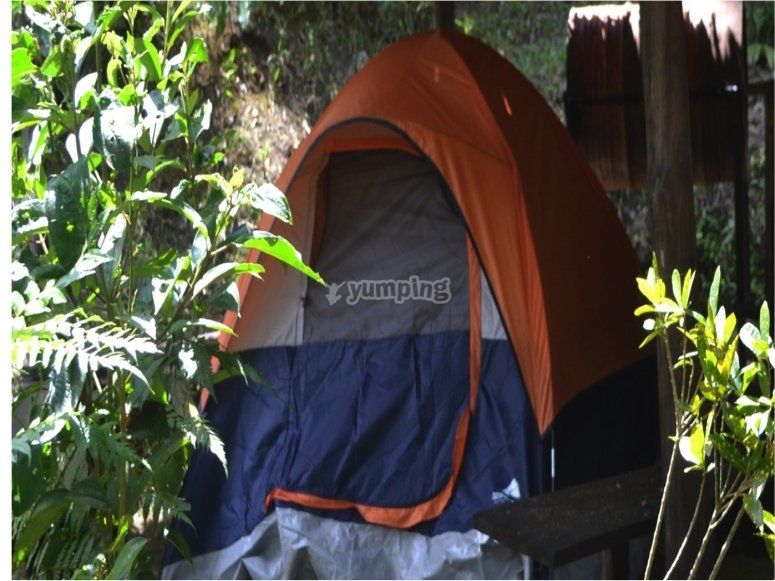 camping in Puebla
