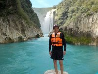 Visit to cenote and waterfall with food Queretaro 9h