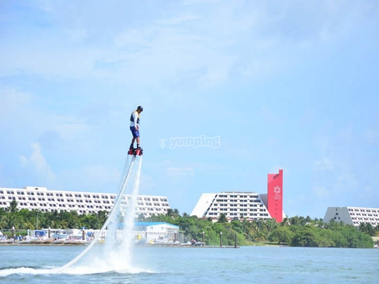 Flyboard in Mexico