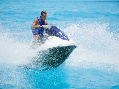 ruta en moto acuática en Cancún 30 minutos