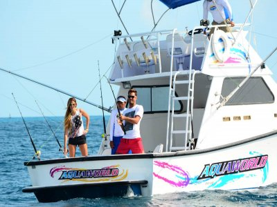 Fishing in Cancun drinks 6 people 6 h