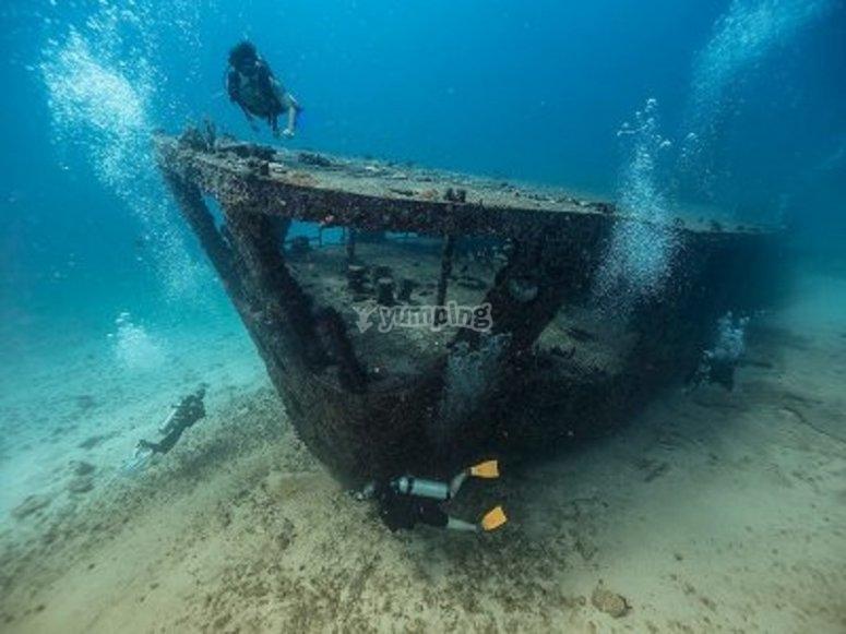 Antiguos barcos submarinos