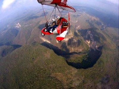 Fly over Sima de las Cotorras Chiapas 10 min