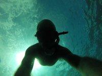 Snorkel en la costa