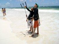 Kitesurfing class
