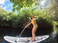 Sailing through the cenote