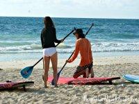 Paddle Surf Classes in Tulum
