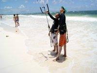 Kitesurf Course in Tulum - Kite Control