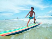 Learning to surf the waves