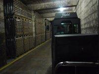 Entering the cellar
