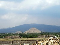 Panorama with pyramid