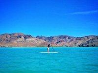 Paddle surf en la paz