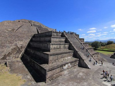 Tour Piramides de Teotihuacán plus buffet 8h Children