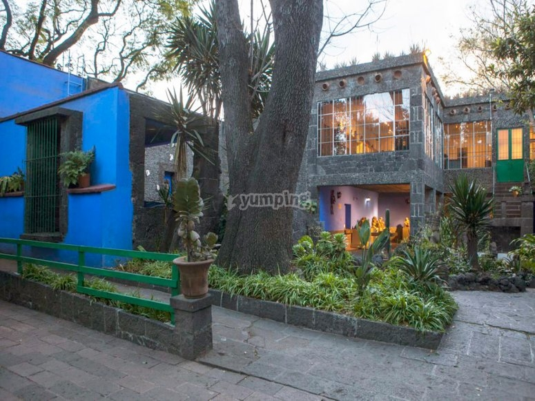 The Blue House of Frida Kahlo