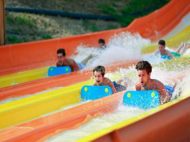 Fun and adrenaline