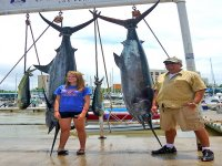 Pesca exitosa pez vela